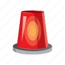 beacon, bulb, cartoon, danger, light, siren, urgency icon