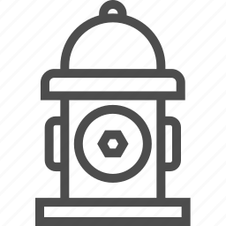 fire, hydrant, pod, safety, water icon