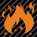 danger, fire, flame