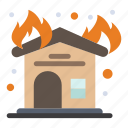 fire, firehouse, fireplace, interior