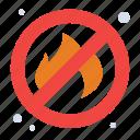 fire, no, place