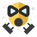 fire, firefighter, mask, protection