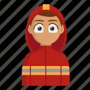 fire, fireman, firefighter