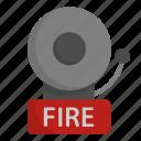 fire, bell, firefighter