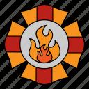 firefighter, fire