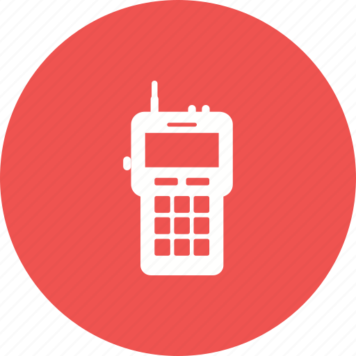 Communication, firefighter, radio, talkie, talking, walkie, wireless icon - Download on Iconfinder