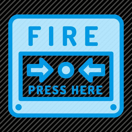 alarm, alert, fire icon
