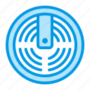 alarm, detector, fire, smoke icon