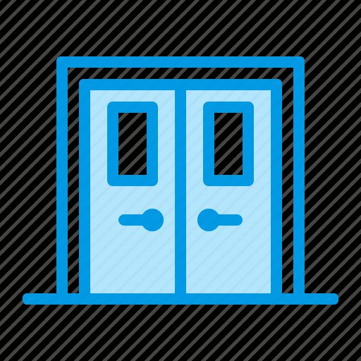 doors, fireproof icon