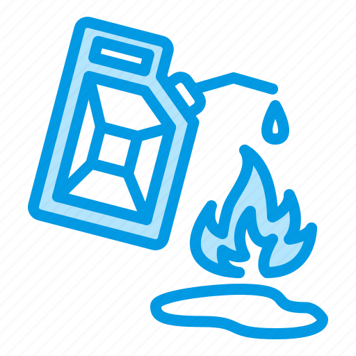 flame, flammable, fuel, gasoline, oil icon