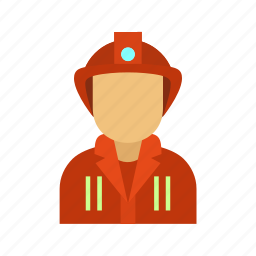 emergency, equipment, fire, firefighter, fireman, rescue, water icon