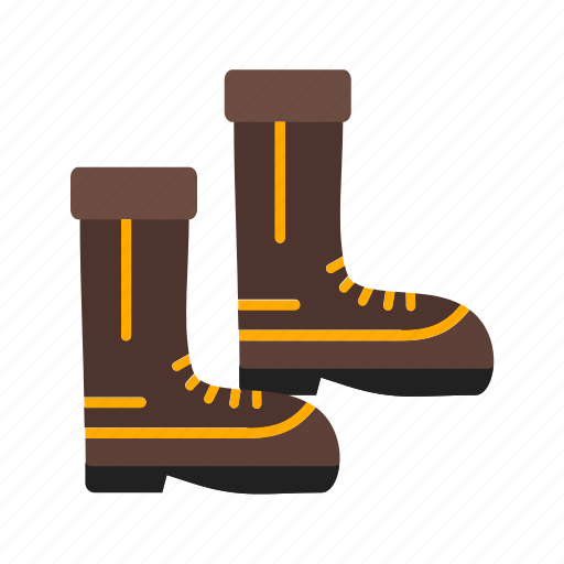 boots, equipment, firefighter, rescue, safety, uniform, work icon