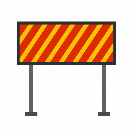 barrier, fire, flames, hurdle, obstacle, road, security icon