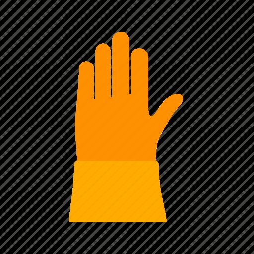 equipment, firefighter, gloves, rescue, safety, uniform, work icon