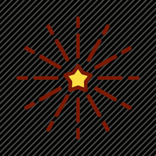 birthday, celebration, decoration, event, firework, holiday, party icon