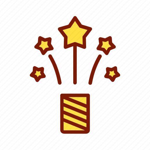 birthday, celebration, decoration, event, firework, holiday, party icon