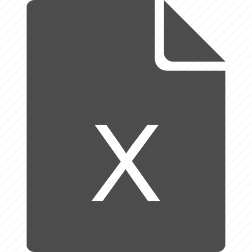 doc, document, file, letter, x icon