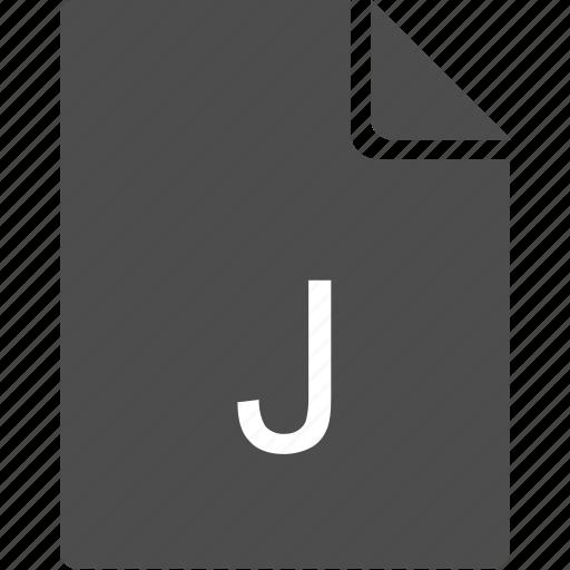 doc, document, file, j icon