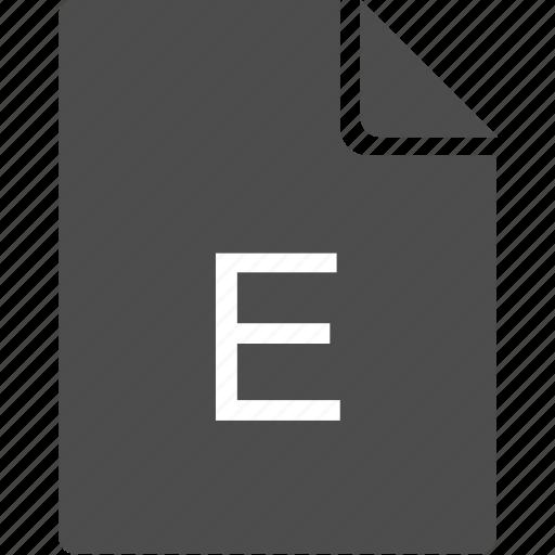 doc, document, e, file, letter icon