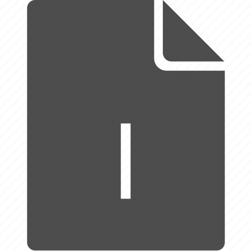 doc, document, file, i, letter icon