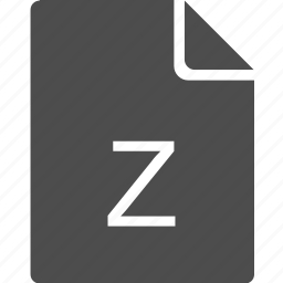 doc, document, file, letter, z icon