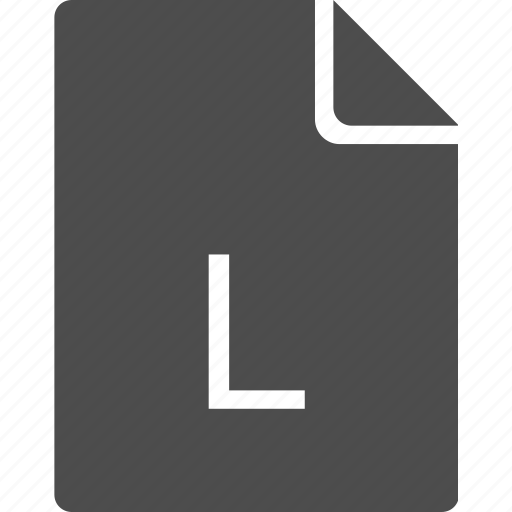 doc, document, file, l, letter icon