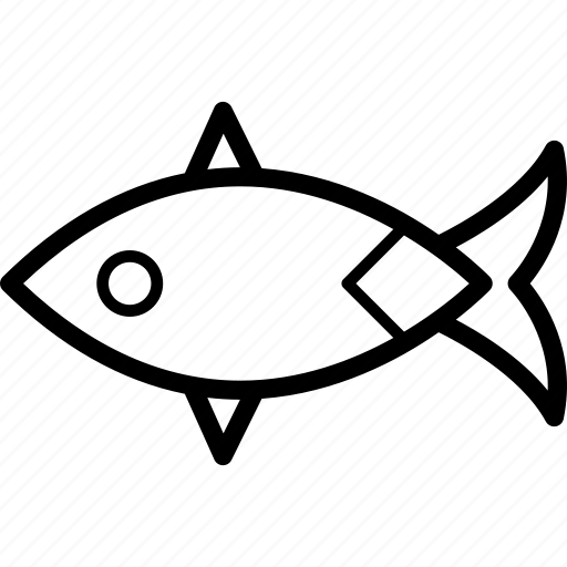 animal, animals, fins, fish, fishing, swimming icon