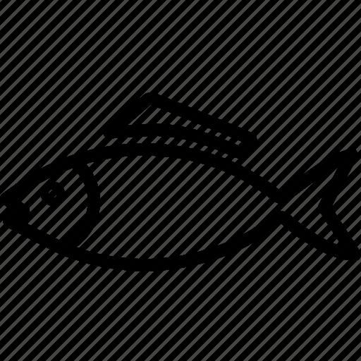 animal, fins, fish, fishing, swimming icon