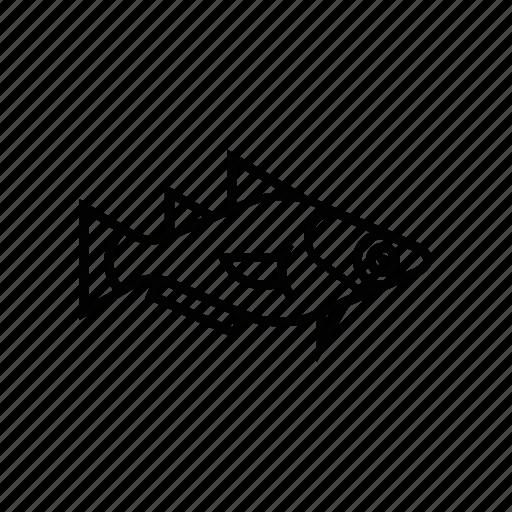 fish, fishie, hake, mediterranean, sea, species icon