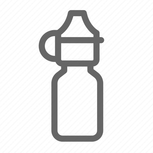 bottle, drop, fishing, fly floatant, small icon