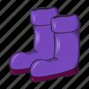 boots, cartoon, gardening, protection, rubber, seasonal, sign