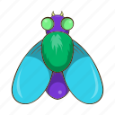 cartoon, fly, hum, insect, sign, style, wildlife