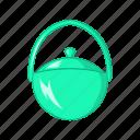 bowler, cartoon, design, food, pot, sign, style icon