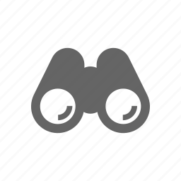 binoculars, glass icon