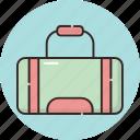 accessories, accessory, bag, bags, gym, handbag, overnight icon