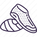 footwear, running, running shoes, shoes, sneakers, sport, training icon