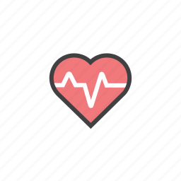 bit, health, heart, pulse, rate icon