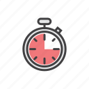 calendar, lap, stop, stopwatch, time icon