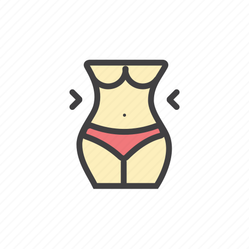 body, female, fit, girl, traning, women icon