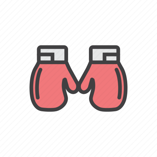 boxing, game, gloves, match, ring, sports icon