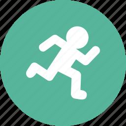 athlete, jog, marathon, racer, runner, running, sprinter icon