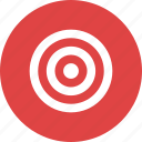 aim, bullseye, efficiency, goal, objective, target icon