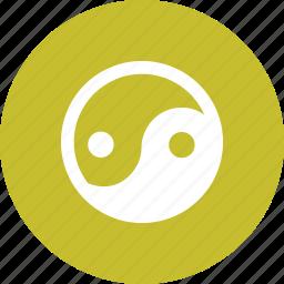 asian, feng shui, kung fu, martial, yang, yin, zen icon