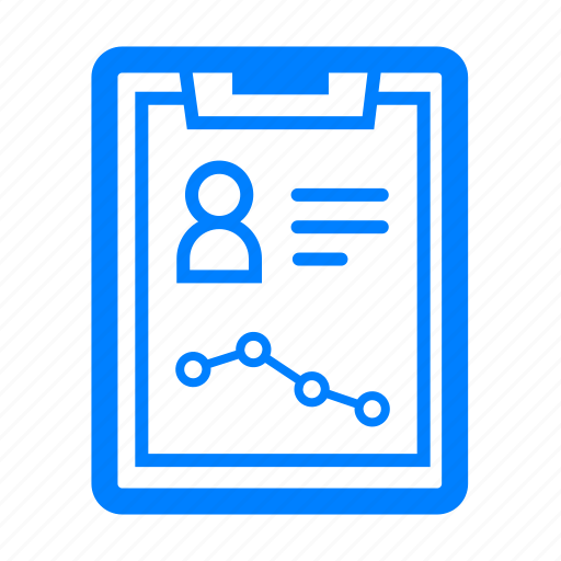 analytics, business, chart, graph, note, report, statistics icon