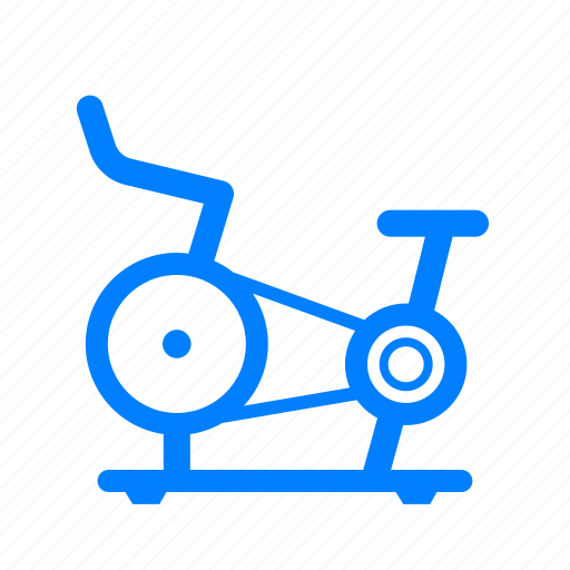 bicycle, bike, cycling, fitness, gym, training, workout icon