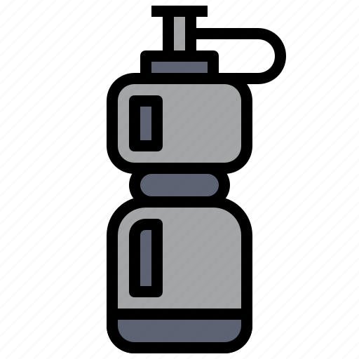 bottle, drink, food, healthy, hydratation, sports, water icon