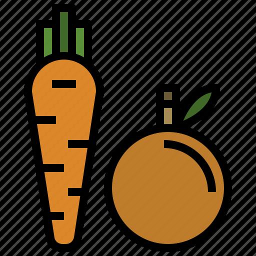 diet, food, fruit, healthy, vegan, vegetables, vegetarian icon