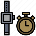 chronometer, interface, stopwatch, time, timer, tools, wait icon