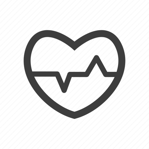 Disease, health, healthy, heart, pulse icon - Download on Iconfinder