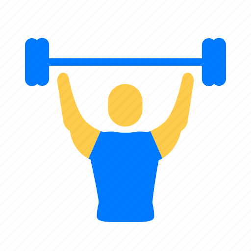 Athletic, dumbbell, exercise, fitness icon - Download on Iconfinder